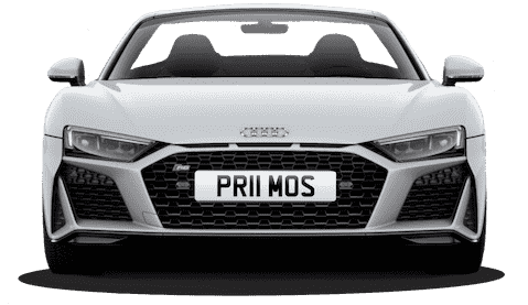 Personalised Number Plates and Private Number Plates from Primo Reg