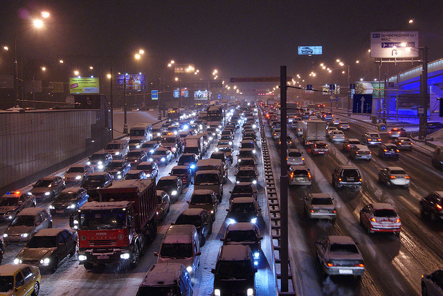 Car Traffic - 7 Fascinating Facts About Cars