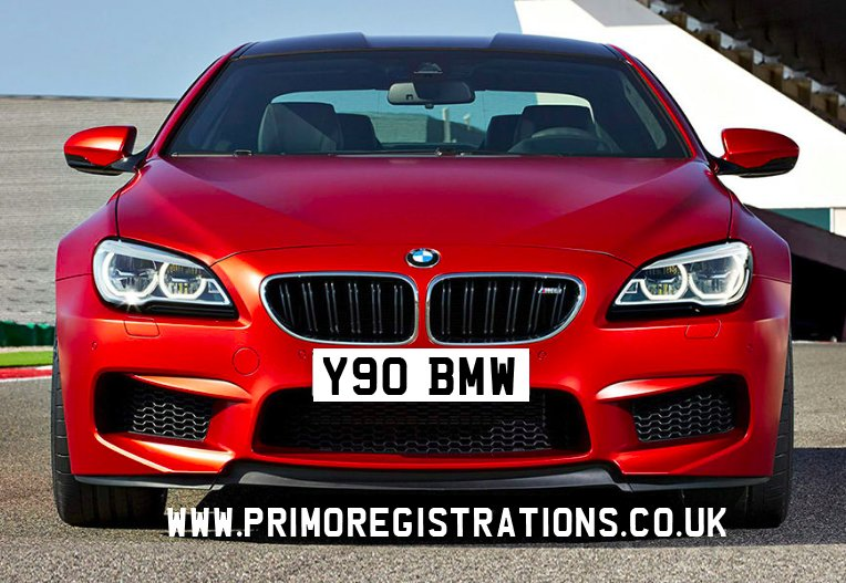 Bmw private number plates, privat number plate, personal registration plate