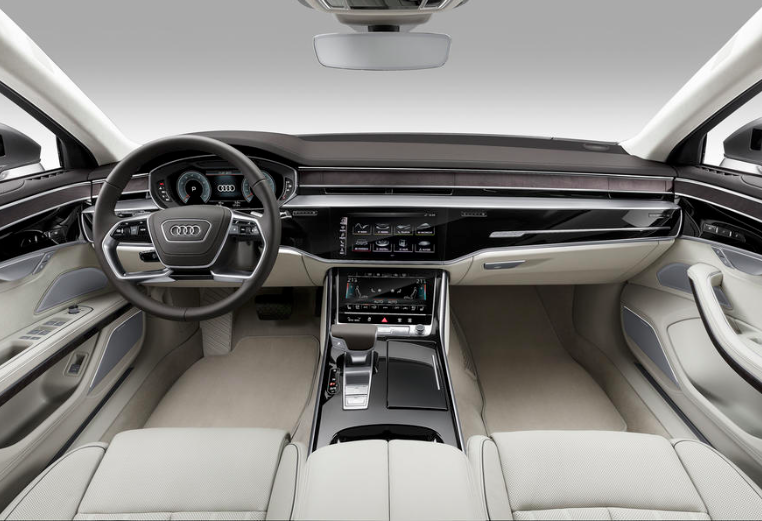 Audi A8 interior - number plates from Primo Registrations