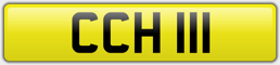 CCH 111 - CHILL PRIVATE NUMBER PLATE
