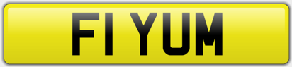 Yum Number Plate