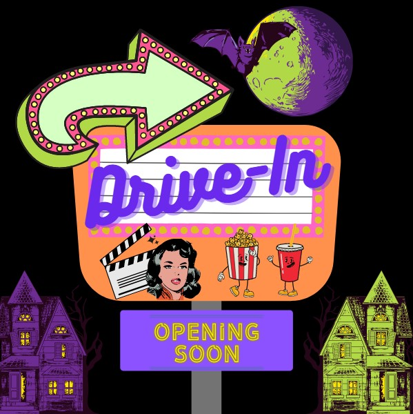 Halloween drive-in