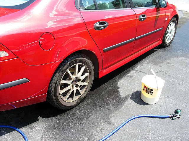 how to wash your car yourself