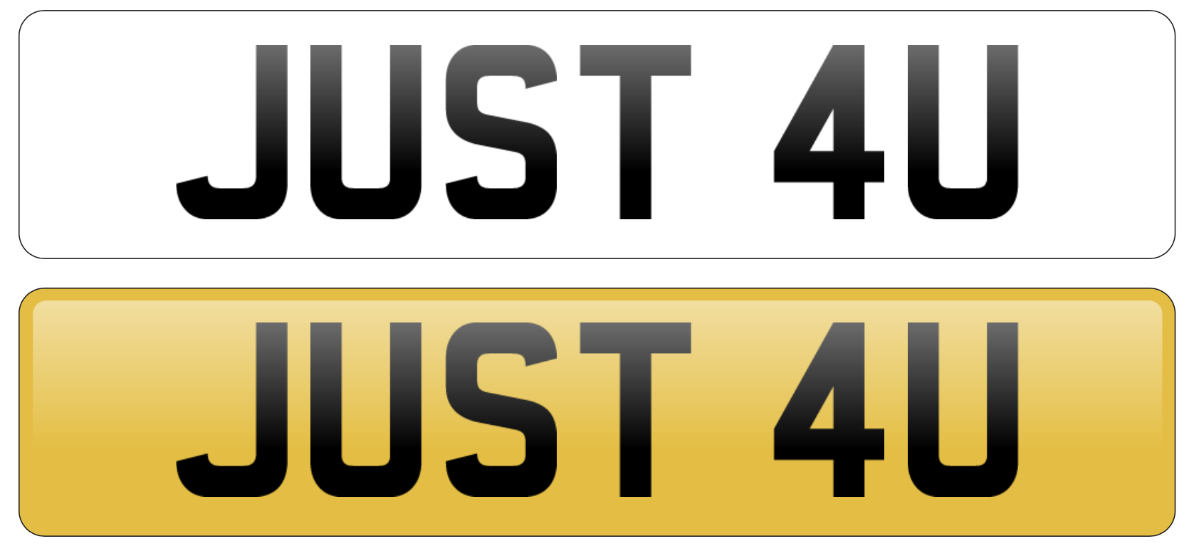 Can I make my own private number plate?  Can I make my own personal number plate?