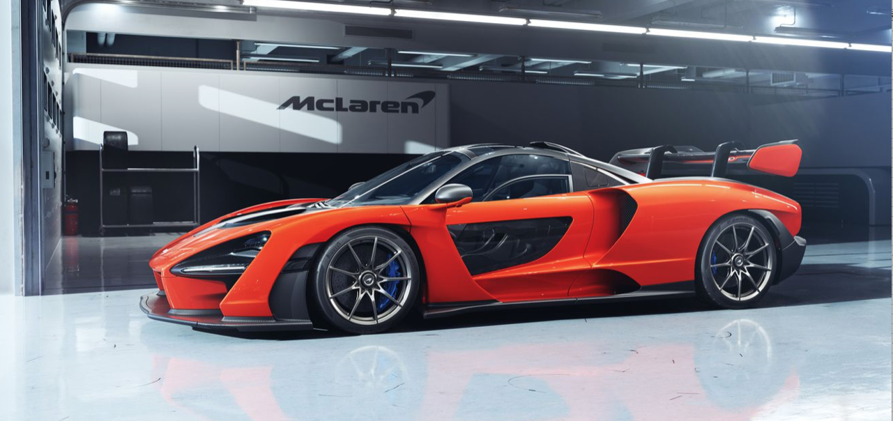 Mclaren private number plates from Primo Registrations