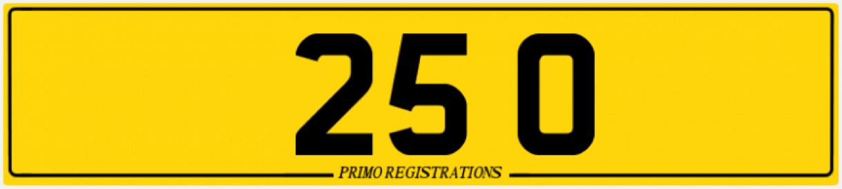 Description: http://www.a1showplates.com/api/a1/plate?&type=show&registration=25%200&font_id=1&badge_id=&custom_badge=&border=7217&line1=Primo%20Registrations&line1_colour=Black&line1_font_id=16&size=1&view=rear&width=780