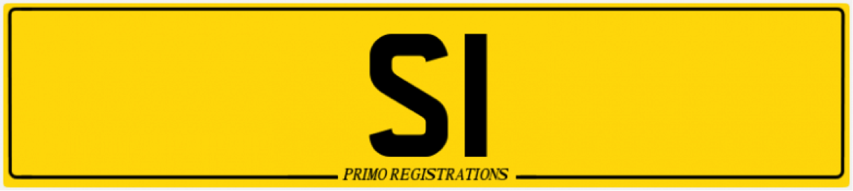 S2 number plate