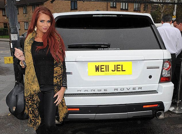 TOWIE number plate (image: Daily Mail)